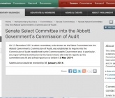 AFSA Submission to Senate Inquiry into Commission of Audit