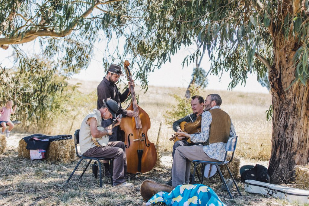 Ciderhouse String Band (Photo by Linsey Rendell)